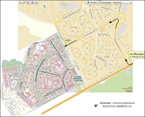Кузнечики на карте Подольска